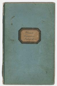 Alte Chronik des Turnverein Hahnstätten